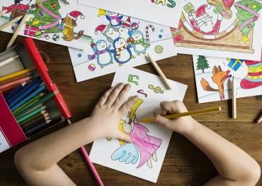 Ateliers d'arts plastiques pour les enfants