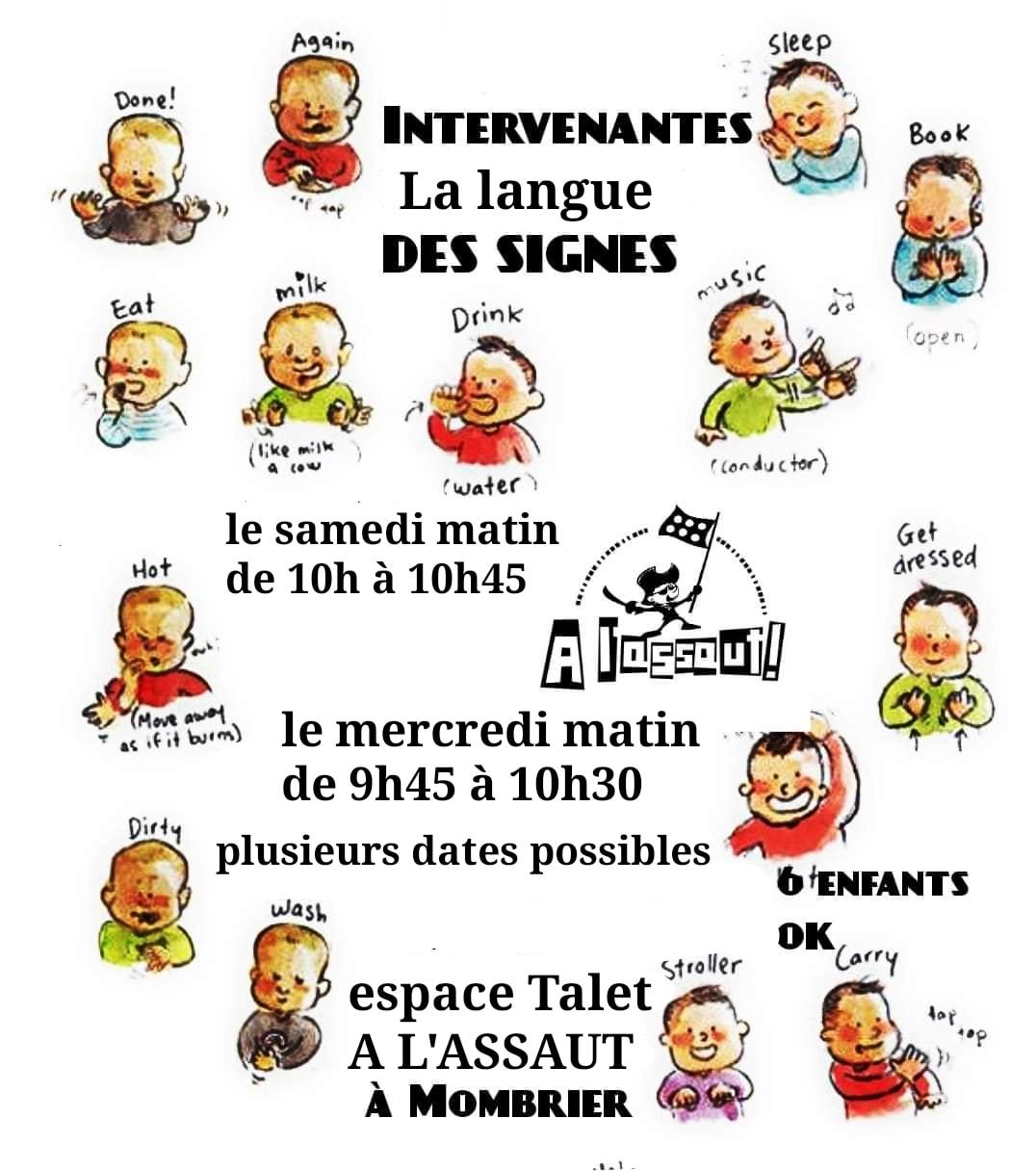 Les dates sont disponibles pour la langue des signes  Avec les intervenantes du …