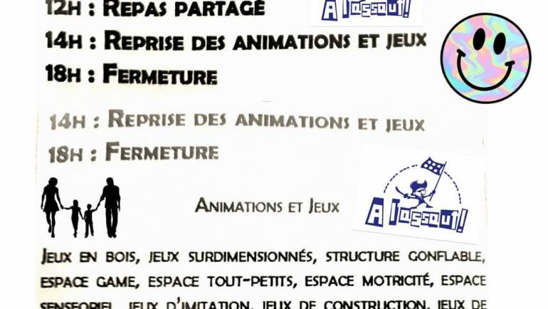 Samedi 25 mai à Mombrier A L'ASSAUT organise la fête du jeu