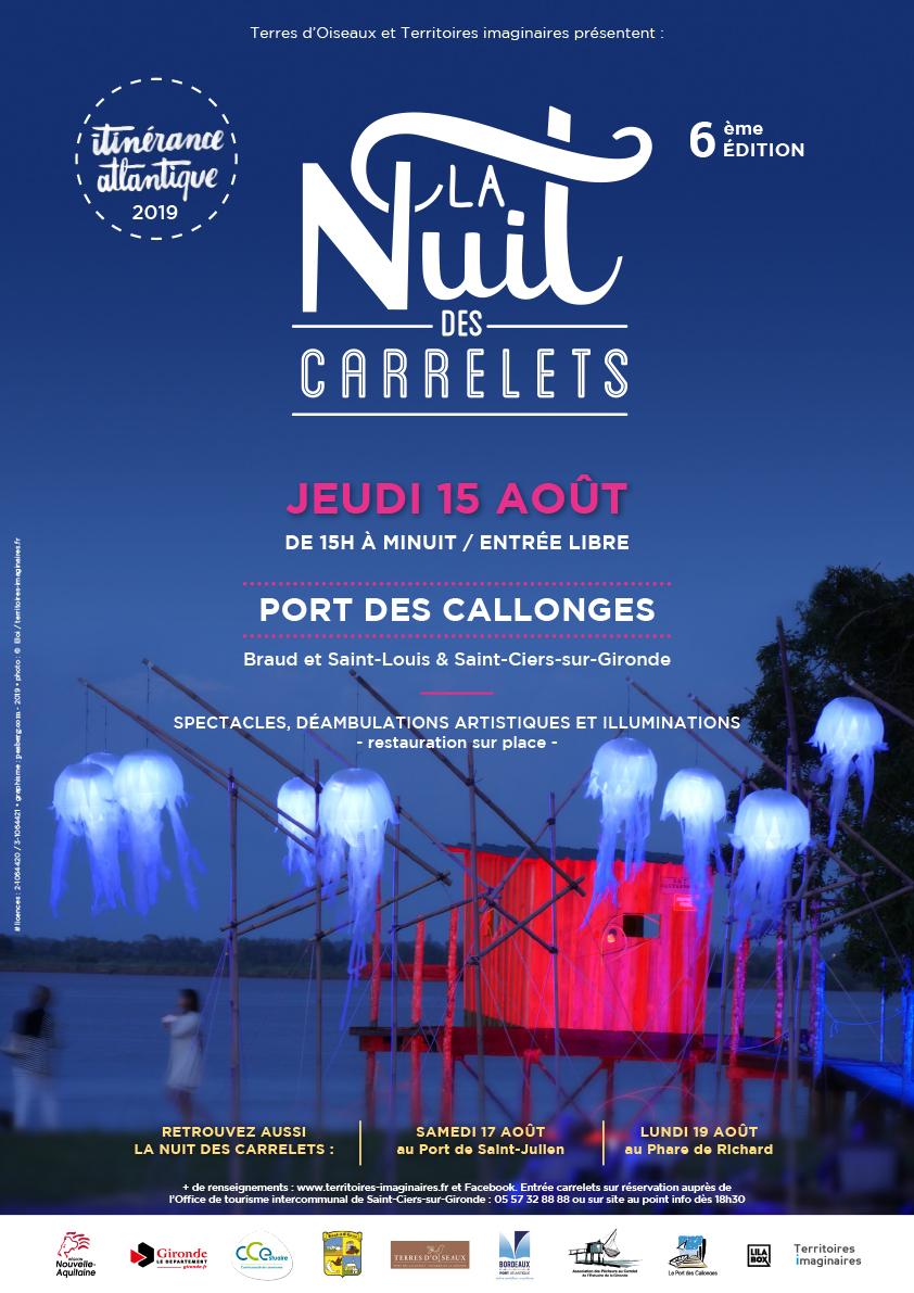 La Nuit des Carrelets : Blaye Bourg Terres d'Estuaire