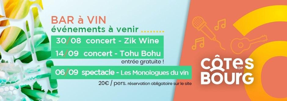 Concert   Le groupe Tohu Bohu clôturera la saison du bar à vin des Côtes de Bour…
