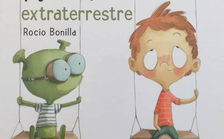 Petit coup de  sur les albums de Rocio Bonilla…