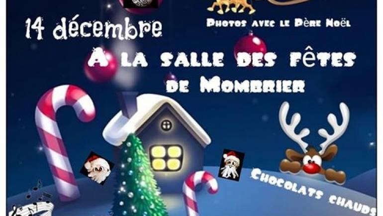 Voici L'affiche officielle de notre Marché de Noël qui aura lieu le 14 décembre …