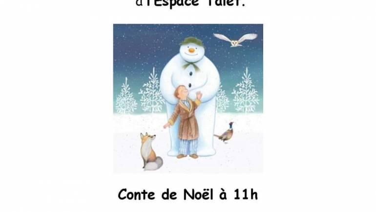 Rendez-vous samedi pour le Noël de la bibliothèque.   Accueil dès 10h30.  Conte …