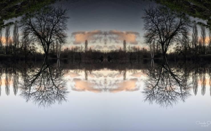 [Coup d'foudre ]  Félicitations à Claude Clin qui a su capter la beauté du site …