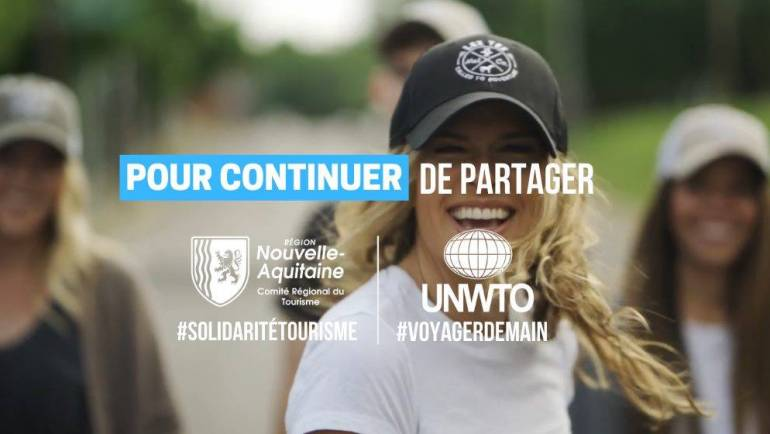 #SolidaritéTourisme – Comité Régional du Tourisme de Nouvelle-Aquitaine [version courte]