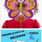 Un joli masque papillon