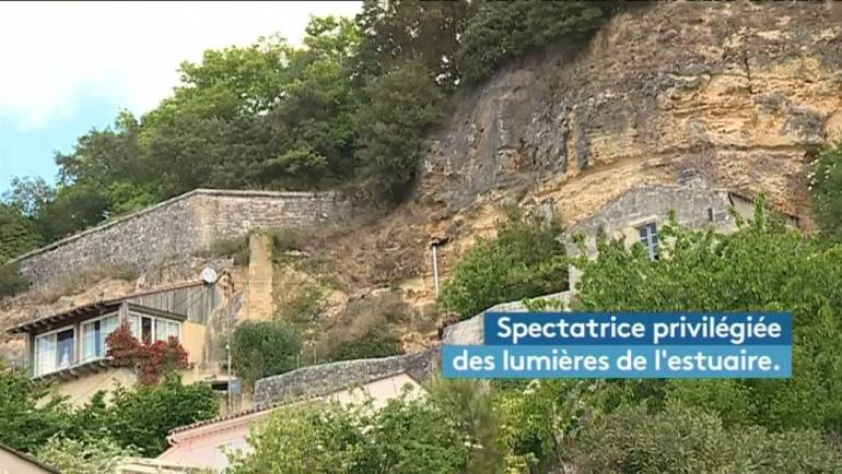 Maisons troglodytes en Gironde