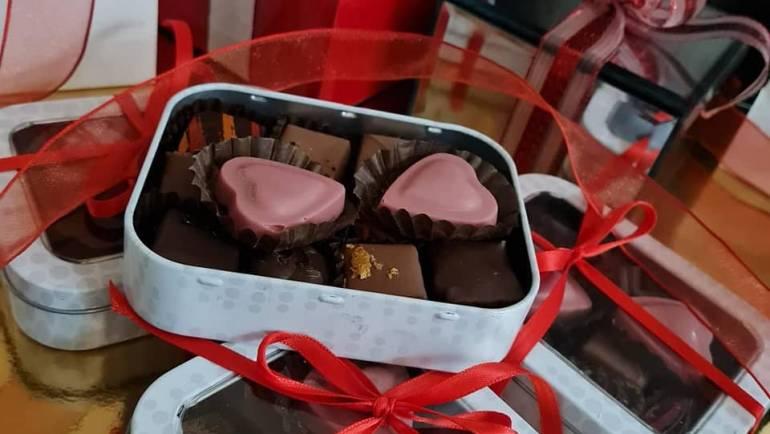 [Saint Valentin  : offrez des chocolats de la Pâtisserie Fréderic Blanleil]  Nou…