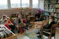 Atelier lecture et créatif de ce mercredi matin